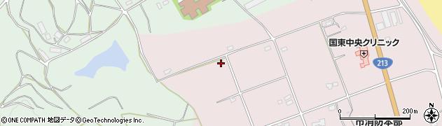 大分県国東市国東町北江3275周辺の地図