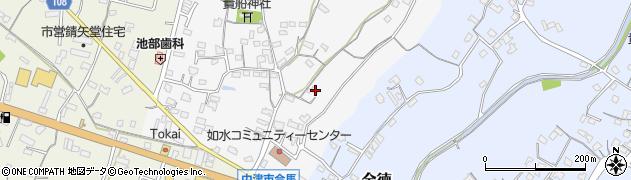 大分県中津市合馬63周辺の地図