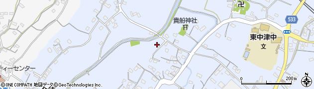大分県中津市是則211周辺の地図