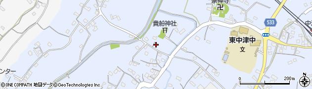 大分県中津市是則247周辺の地図