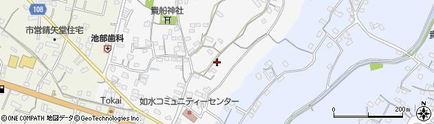 大分県中津市合馬59周辺の地図