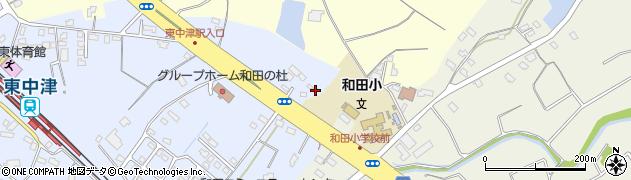 大分県中津市是則1356-8周辺の地図