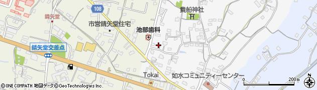 大分県中津市合馬437周辺の地図