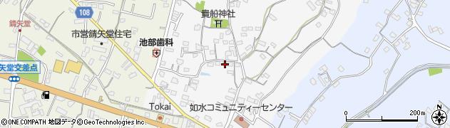 大分県中津市合馬523周辺の地図