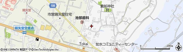 大分県中津市合馬433周辺の地図