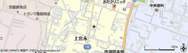 大分県中津市上宮永972周辺の地図