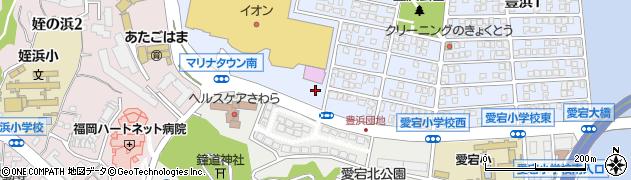 みんなの保険プラザ マリナ通り店周辺の地図