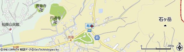 福岡県糸島市志摩馬場周辺の地図