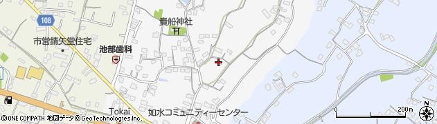 大分県中津市合馬69周辺の地図