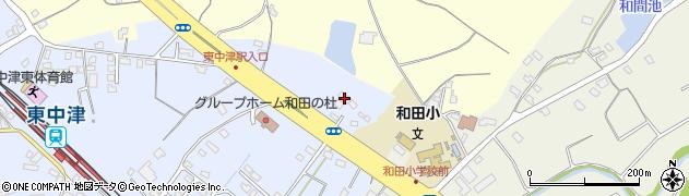 大分県中津市是則1356周辺の地図