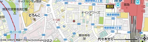 株式会社ライテック福岡営業所周辺の地図