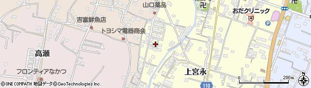大分県中津市上宮永1265周辺の地図