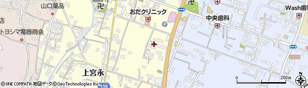 大分県中津市上宮永274周辺の地図