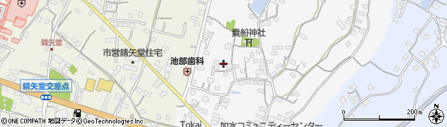 大分県中津市合馬417-2周辺の地図