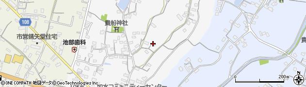大分県中津市合馬72周辺の地図