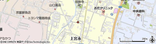 大分県中津市上宮永106周辺の地図