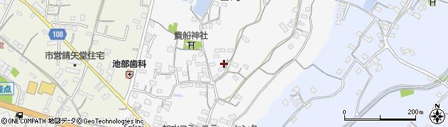大分県中津市合馬544周辺の地図