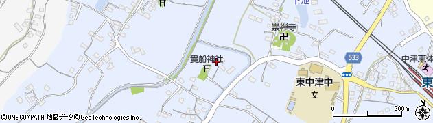 大分県中津市是則270周辺の地図