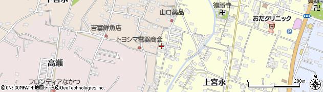 大分県中津市上宮永1264周辺の地図