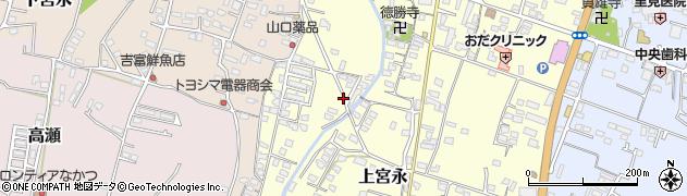 大分県中津市上宮永1244周辺の地図