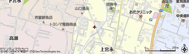大分県中津市上宮永1245周辺の地図