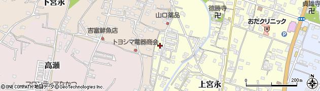 大分県中津市上宮永1267周辺の地図
