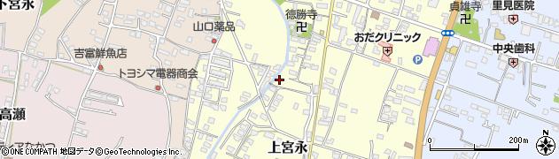 大分県中津市上宮永1060周辺の地図