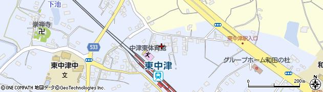 大分県中津市是則956周辺の地図