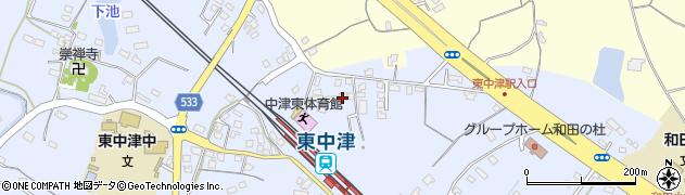 大分県中津市是則940周辺の地図