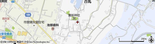 大分県中津市合馬540周辺の地図