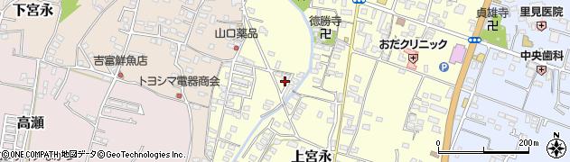 大分県中津市上宮永1241周辺の地図