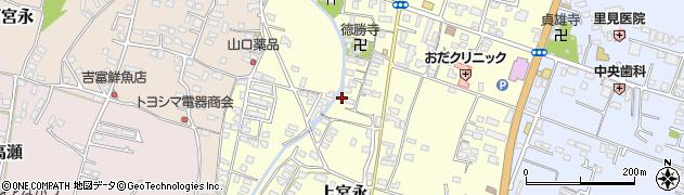 大分県中津市上宮永1062周辺の地図