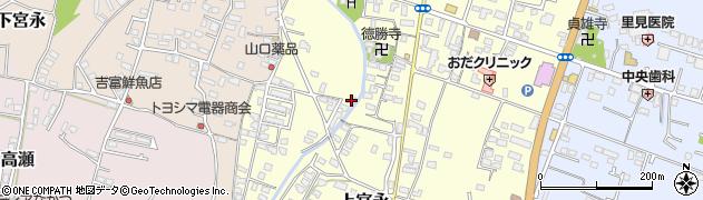 大分県中津市上宮永1233周辺の地図