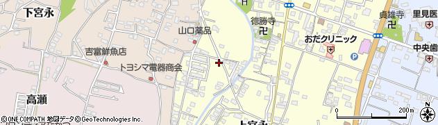 大分県中津市上宮永1239周辺の地図