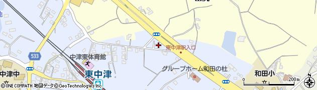 大分県中津市是則946周辺の地図