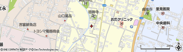 大分県中津市上宮永1083周辺の地図