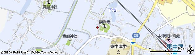 大分県中津市是則431周辺の地図
