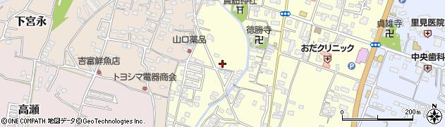 大分県中津市上宮永1236-1周辺の地図