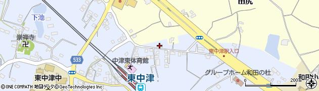 大分県中津市是則943周辺の地図