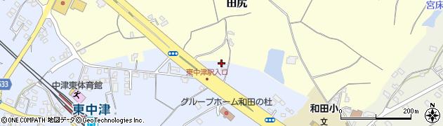 大分県中津市是則1345周辺の地図