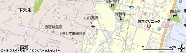 大分県中津市上宮永1212周辺の地図