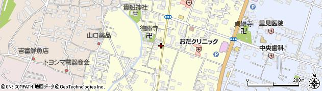 大分県中津市上宮永1087周辺の地図