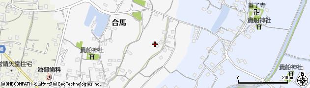 大分県中津市合馬38周辺の地図