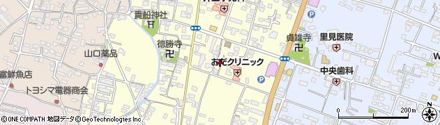 大分県中津市上宮永271周辺の地図