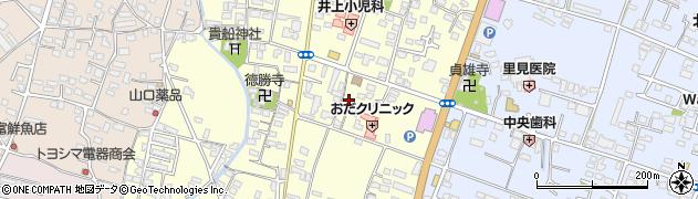 大分県中津市上宮永周辺の地図