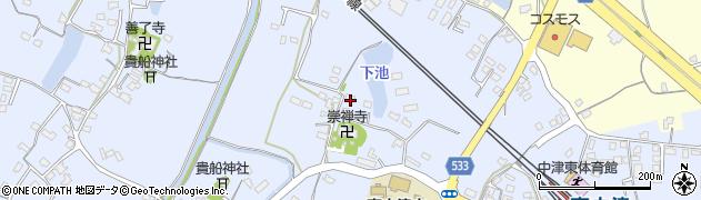 大分県中津市是則400周辺の地図