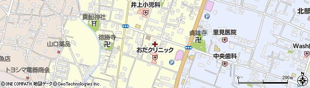 大分県中津市上宮永263周辺の地図