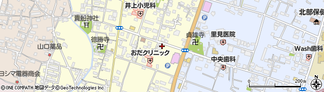 大分県中津市上宮永265周辺の地図