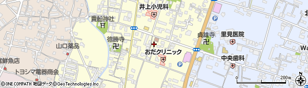 大分県中津市上宮永262周辺の地図