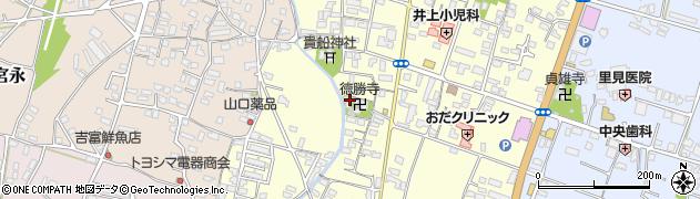 大分県中津市上宮永1103周辺の地図
